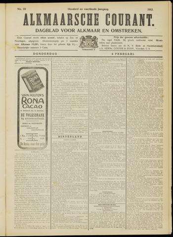 Alkmaarsche Courant 1912-02-08
