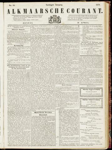 Alkmaarsche Courant 1878-04-21