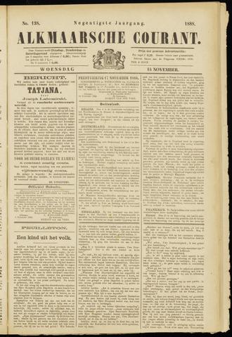 Alkmaarsche Courant 1888-11-14