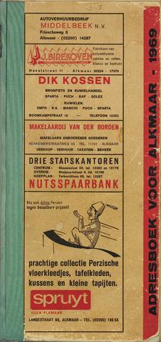Adresboek van Alkmaar 1969-01-01