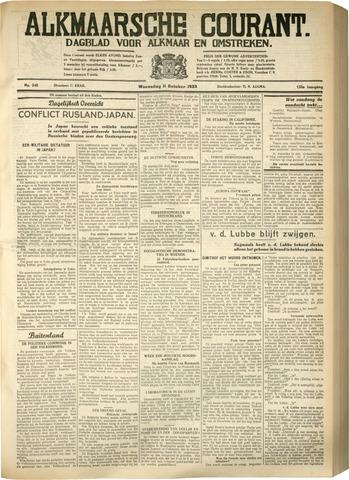 Alkmaarsche Courant 1933-10-11