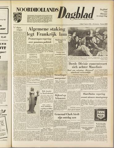 Noordhollands Dagblad : dagblad voor Alkmaar en omgeving 1953-08-07
