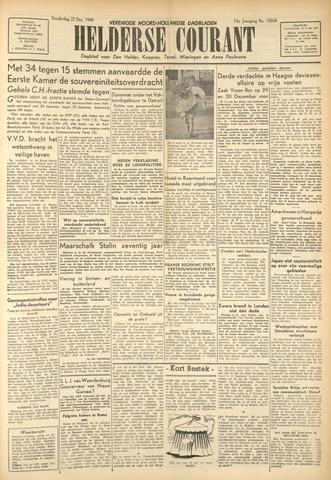 Heldersche Courant 1949-12-22