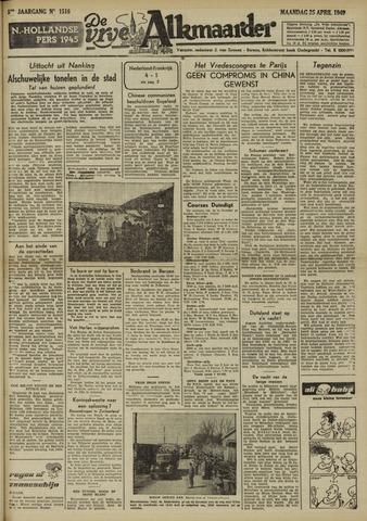 De Vrije Alkmaarder 1949-04-25