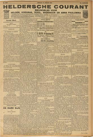 Heldersche Courant 1923-01-16