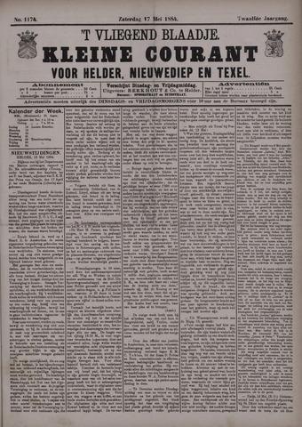 Vliegend blaadje : nieuws- en advertentiebode voor Den Helder 1884-05-17