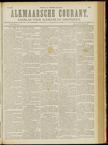Alkmaarsche Courant 1918-09-24