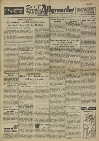 De Vrije Alkmaarder 1950-04-13