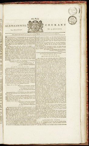 Alkmaarsche Courant 1830-08-23