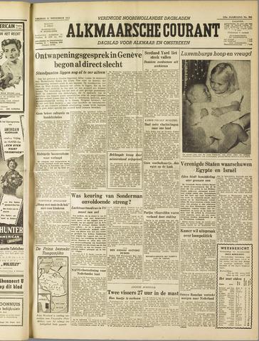 Alkmaarsche Courant 1955-11-11