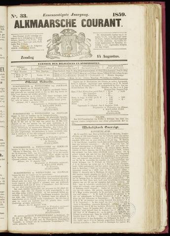 Alkmaarsche Courant 1859-08-14