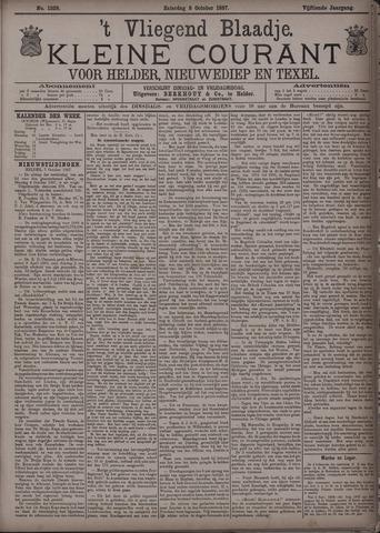 Vliegend blaadje : nieuws- en advertentiebode voor Den Helder 1887-10-08
