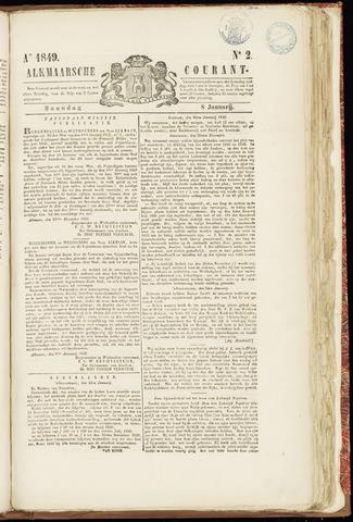Alkmaarsche Courant 1849-01-08