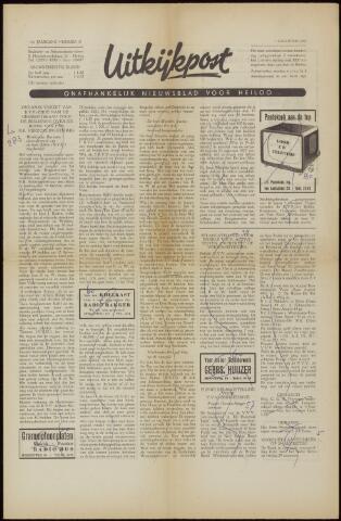 Uitkijkpost : nieuwsblad voor Heiloo e.o. 1958-08-07