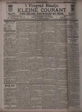 Vliegend blaadje : nieuws- en advertentiebode voor Den Helder 1894-04-28