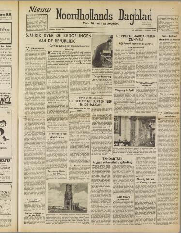 Nieuw Noordhollandsch Dagblad : voor Alkmaar en omgeving 1947-06-20