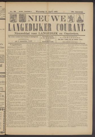 Nieuwe Langedijker Courant 1920-04-21