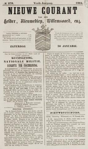 Nieuwe Courant van Den Helder 1864-01-30