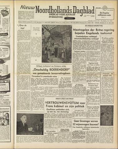Nieuw Noordhollandsch Dagblad : voor Alkmaar en omgeving 1952-03-12