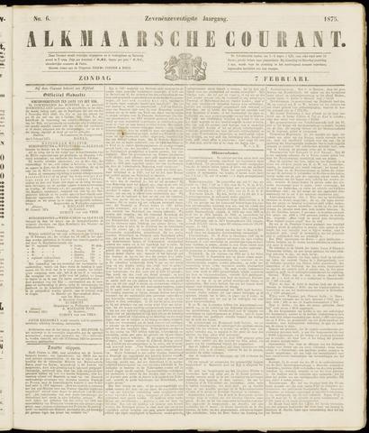 Alkmaarsche Courant 1875-02-07