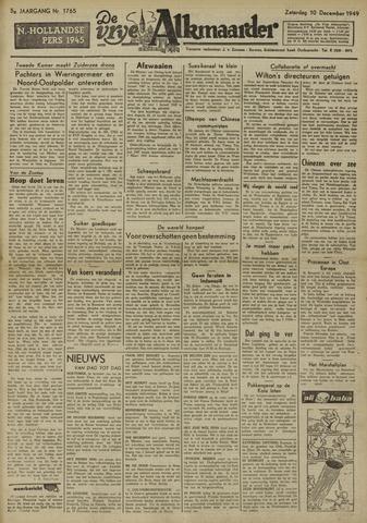 De Vrije Alkmaarder 1949-12-10