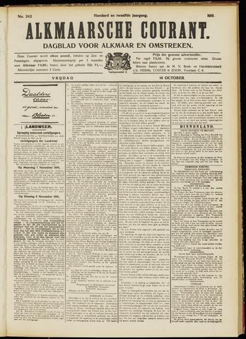 Alkmaarsche Courant 1910-10-14
