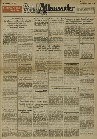 De Vrije Alkmaarder 1948-03-23