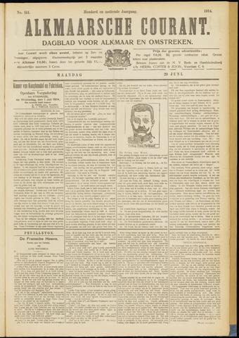Alkmaarsche Courant 1914-06-29