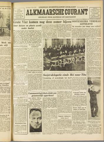 Alkmaarsche Courant 1955-05-16