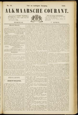 Alkmaarsche Courant 1882-04-07