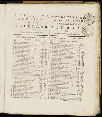 Alkmaarsche Courant 1812-02-12