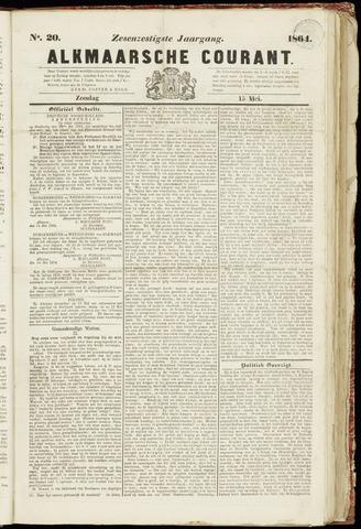 Alkmaarsche Courant 1864-05-15