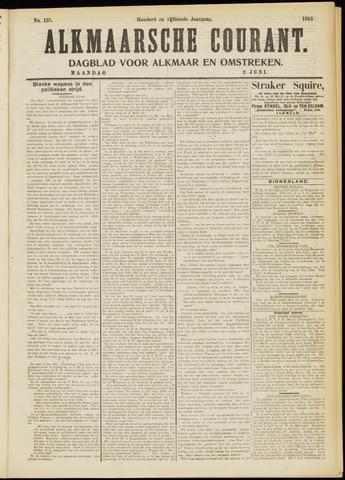 Alkmaarsche Courant 1913-06-02
