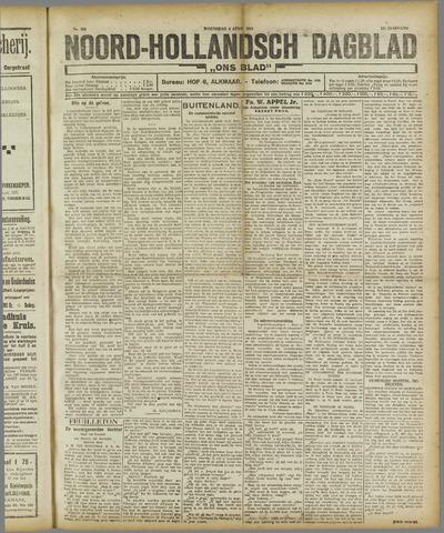 Ons Blad : katholiek nieuwsblad voor N-H 1921-04-06