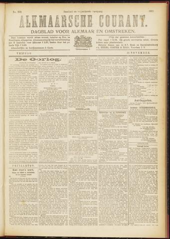 Alkmaarsche Courant 1917-11-16