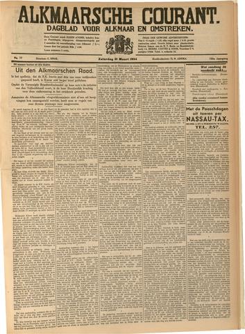 Alkmaarsche Courant 1934-03-31