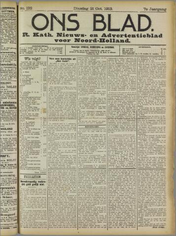Ons Blad : katholiek nieuwsblad voor N-H 1913-10-21