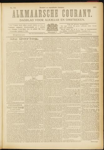 Alkmaarsche Courant 1917-08-08