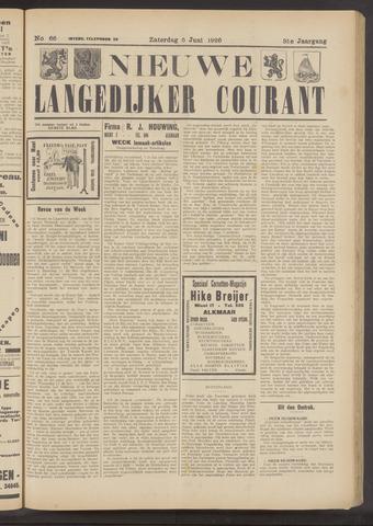 Nieuwe Langedijker Courant 1926-06-05