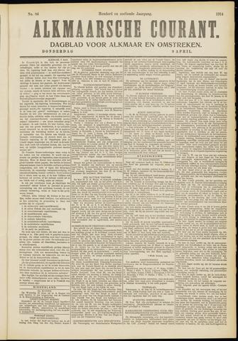 Alkmaarsche Courant 1914-04-09