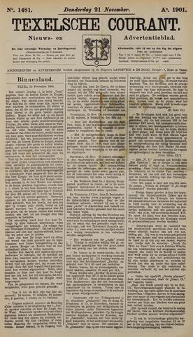 Texelsche Courant 1901-11-21