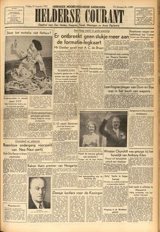 Heldersche Courant 1952-08-15