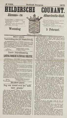 Heldersche Courant 1873-02-05