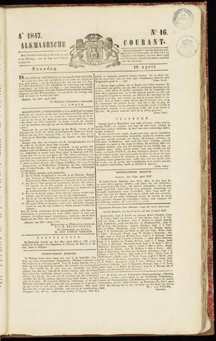 Alkmaarsche Courant 1847-04-19