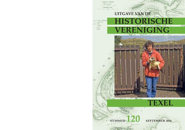 Uitgave Historische Vereniging Texel 2016-09-01