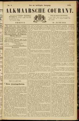 Alkmaarsche Courant 1884-01-18