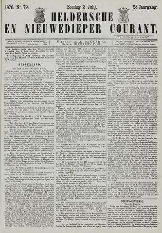 Heldersche en Nieuwedieper Courant 1870-07-03