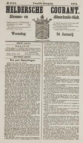 Heldersche Courant 1872-01-24