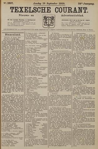 Texelsche Courant 1910-09-18
