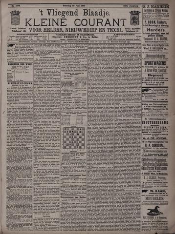 Vliegend blaadje : nieuws- en advertentiebode voor Den Helder 1895-06-29